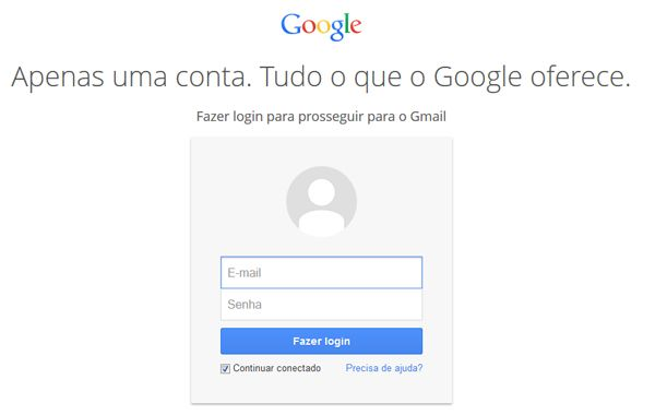 entrar no gmail login home